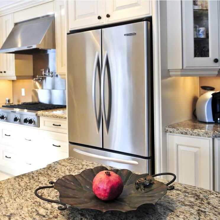stainless steel refrigerator in naperville needs repair
